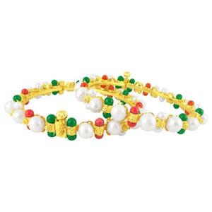 jpearls mashy pearl bangles