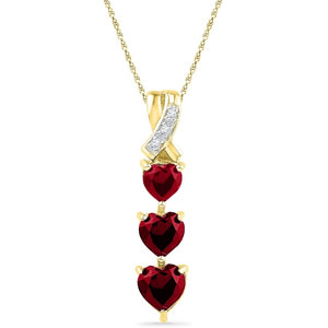 Jpearls-18kt-Triple-Heart-Diamond-Pendant