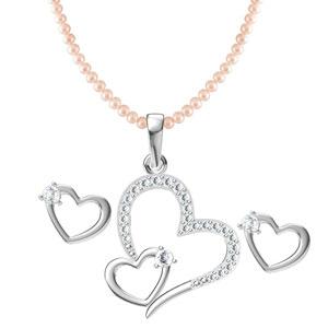 Valentine-Dual-Heart-Pendant-Set
