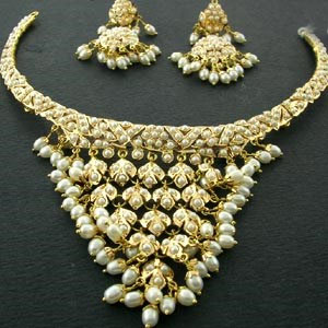 j pearls pearl gold necklace