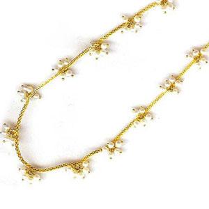 j pearls diwali pearl gold chain