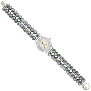 j pearls cz pearl watch