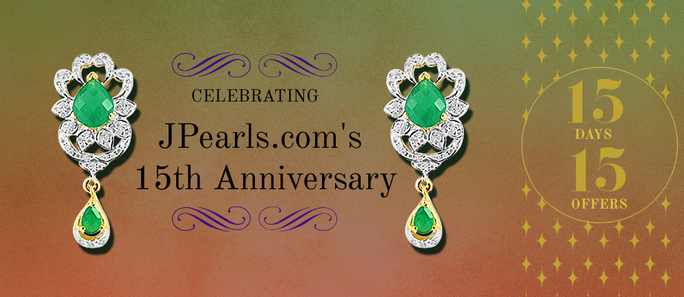 JPearls.com anniversary jewellery offers and pearl sets discounts