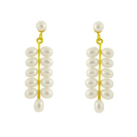 j pearls leaf earrings