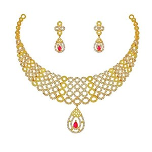 22kt Gold Charlotte Necklace Set