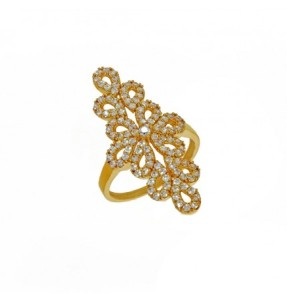 The stunning princess gold ring