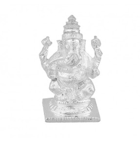 silver idols and coins