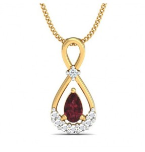 Adhiratha 0.09ct Diamond Pendant