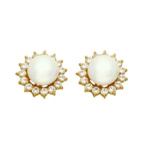 Gold Studs at jpearls